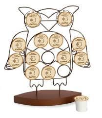 amazon com october hill k cup holder owl kitchen u0026 dining