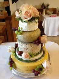 wedding cake made of cheese made to order organic cheese wedding cakes