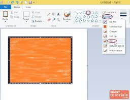 how to draw shapes in ms paint windows 8