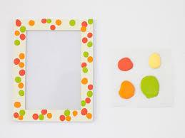 mother u0027s day kids u0027 craft fingerprint frames hgtv