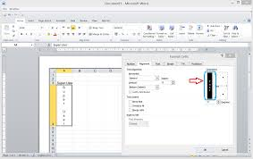 how do you make text vertical in word 2010 super user
