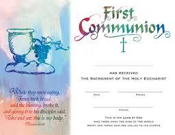 catholic supplies communion catholic faith certificates church supplies