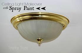 Spray Painting Brass Light Fixtures Updating Even More Brass Light Fixtures Using Spray Paint