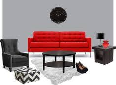 Red Sofa Sets by Bright Red Sofa Furniture Living Room Design Decorative Curtain