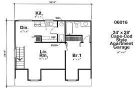 24 x 24 garage plans project plan 6016 24 x 28 cape cod apartment garage