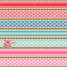 fabric ribbons colorful fabric polka dot ribbons and shabby chic roses stock