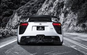lexus lfa engine 2013 lexus lfa nurburgring edition white static rear wallpapers