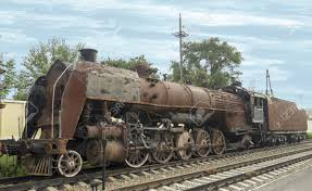rusty train rusty steam locomotive in rostov on don stock photo picture and