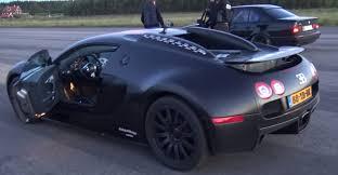 bugatti veyron dutchbugs vs bmw m5 e34 turbo
