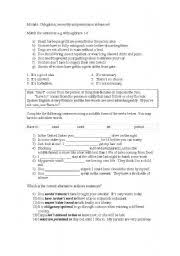 english worksheets modal worksheets page 42