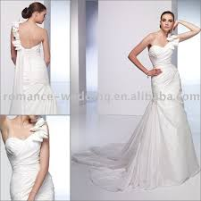one shoulder wedding dresses 2011 ay0007 one shoulder draped wedding dress 2011 in wedding