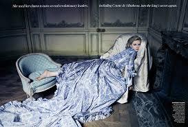 robe mari e chetre 18th century fashion antoinette haute couture
