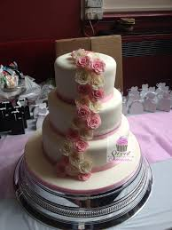 3 Tier Wedding Cake Wedding Cakes Sweet Creation