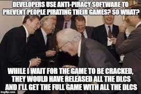 Piracy Meme - laughing men in suits meme imgflip