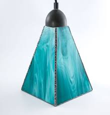 Blue Glass Pendant Light by Custom Ceiling Fixtures Custommade Com