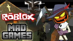 roblox mad games halloween youtube