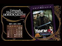halloween horror nights 19 friday the 13th camp blood halloween horror nights wiki