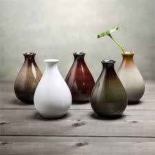 ceramic vase flower bottle ceramic ornaments handmade flower