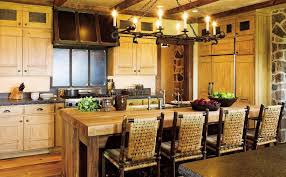 rustic kitchen islands with seating rustic kitchen island butcher blockhome design styling