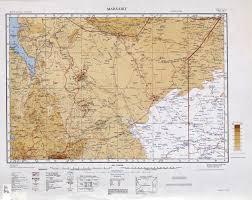 Kenya Map Africa by Kenya Colony