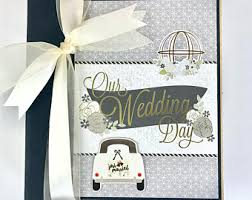 scrapbook album kits wedding scrapbook etsy
