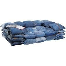 canape en jean achat vente pas cher
