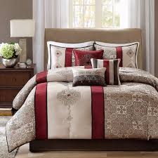 Lacoste Home Decor by Red And Grey Comforter Set Comforters Decoration