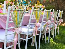 chair ribbons picture of chair decor ideas with fabric and ribbon