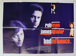 Bad Influence Bad Influence Original Cinema Movie Poster From Pastposters Com