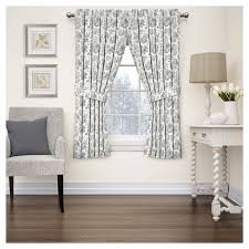 Waverly Curtain Panels Charmed Floral Curtain Panel Waverly Target