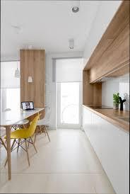 cuisine blanche et plan de travail bois cuisine blanche plan de travail bois gallery of beau