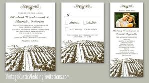 vineyard wedding invitations wine themed wedding invitations inovamarketing co