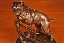 boxer dog statue bronze boxer dog statue signed c valton dogs ebay