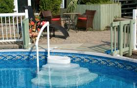 above ground pool steps design of your house u2013 its good idea for