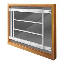 windows replacement windows adjustable width 4 bar window guard