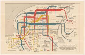 Map New York City Historical Map New York City Transit System Transit Maps