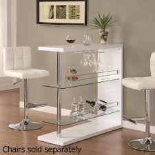 Glass And Metal Sofa Table White Metal Bar Table Steal A Sofa Furniture Outlet Los Angeles Ca