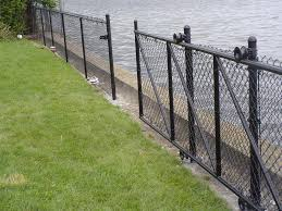 chain link fence gates black u2014 bitdigest design chain link fence