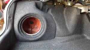 2013 honda accord subwoofer sub box fiberglass