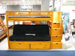 Futon Bunk Bed With Mattress Included Bunk Beds With Futon Bunk Bed Top Futon Bottom Metal Bunk Bed