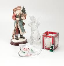 mikasa crystal christmas decor and figurines ebth