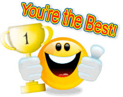 the best smiley you are the best emoticons f礬licitation