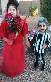 Gomez Halloween Costume Morticia Gomez Addams Costume Kids Photo 3 5