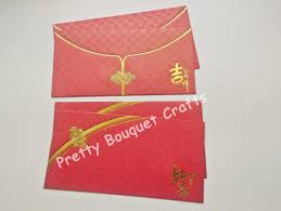 lucky envelopes 4pcs dual designs water resistant lucky packet money