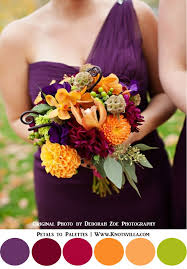 fall colors for weddings best 25 plum fall weddings ideas on purple wedding