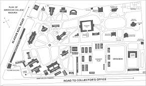 Ncc Campus Map Campus Map The American College