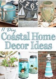 11 DIY Coastal Home Décor Ideas Merry Monday Link Party 162