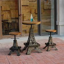 eiffel tower table restore ancient ways wrought iron do eiffel tower lift