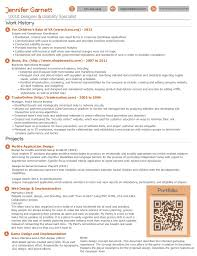 skillful ideas ux designer resume 7 user experience 5438 u2014
