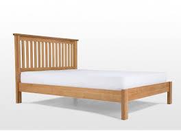 King Size Oak Bed Frame by King Size 5 Ft Natural Oak Bed Frame Hampton Oak